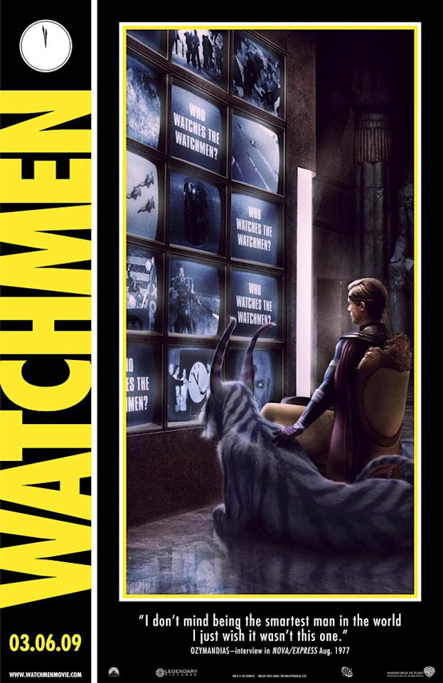 "2008 Comic-Con poster for Warner Bros. Pictures' <a href=""http://movies.yahoo.com/movie/1808406490/info"">Watchmen</a> - 2009"