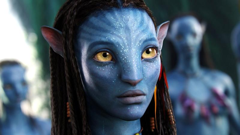 Zoe Saldana as Neytiri in Avatar (Credit: Fox)