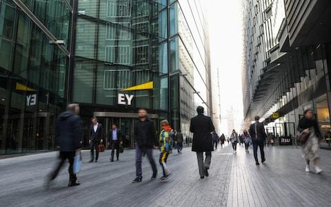 EY - Credit:  Simon Dawson/ Bloomberg