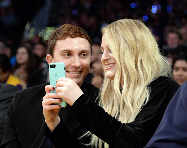 "Meghan Trainor says she knew fiancé Daryl Sabara was ""the One"" right away. (Photo: Getty Images)"