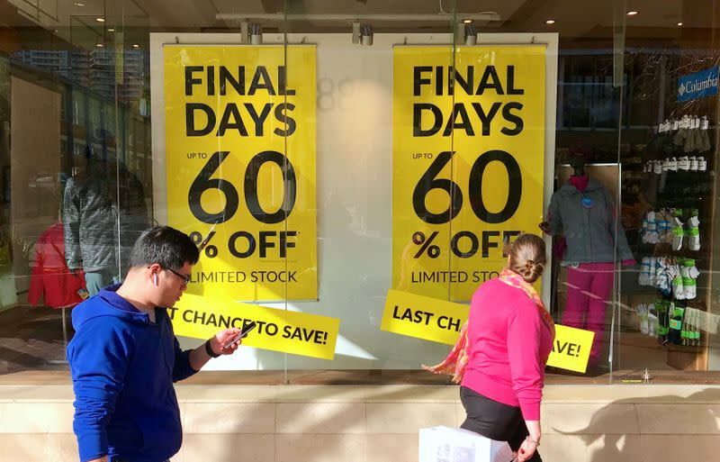 Australia provisional retail sales up 3.3% in July