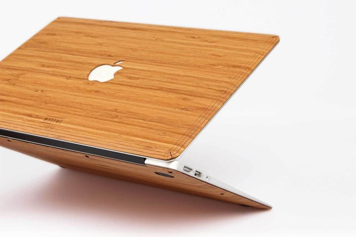<p>There's something delightfully charming about the WoodWe line of products - from MacBook covers to iPhone cases, they can transform any metal with their wood-accent pieces. This <span>WoodWe MacBook Cover in Bamboo</span> ($85) might just become your favorite.</p>