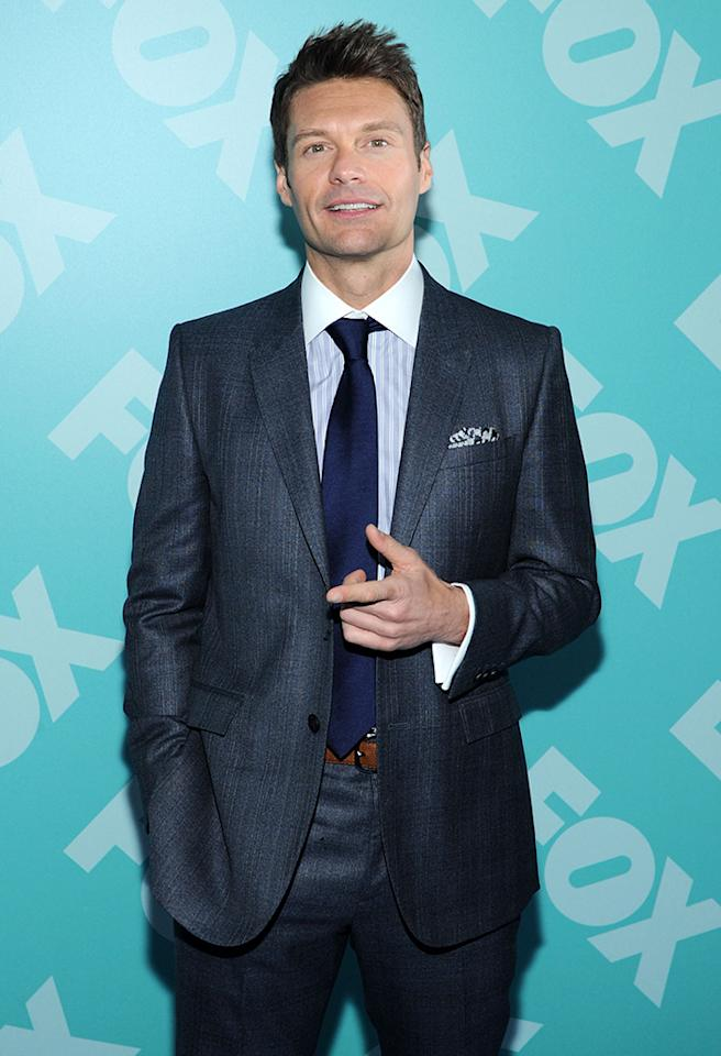 "<b>Georgia:</b> Ryan Seacrest<br /><b>Birthplace:</b> Dunwoody<br /><b>Fun Fact:</b> Growing up in an affluent suburb of Atlanta, the ""American Idol"" host, 38, dreamed of becoming the next Dick Clark. As ''The Voice of Dunwoody High School,'' he led the daily Pledge of Allegiance over the public address system. His mother told Atlanta Journal-Constitution, ""Instead of playing with G.I. Joes or Cowboys and Indians, he would always have a little microphone and do shows in the house."" And he was a hard worker even then. While interning at Atlanta's STAR 94-FM at 16, he soon had his own shift. ""I remember thinking, Everything I do from this point on is a step,"" Seacrest told <a href=""http://on.details.com/12nXkcW"" target=""_blank"">Details </a> in 2008. ""If I'm scrubbing the break room, I'm closer to the studio room. And if I'm in the studio room, I'm closer to the microphone. If I'm closer to the microphone ... I really got the psychology of it — that everything is connected."" At 19, he left the University of Georgia, where he was studying journalism, to move to Hollywood."