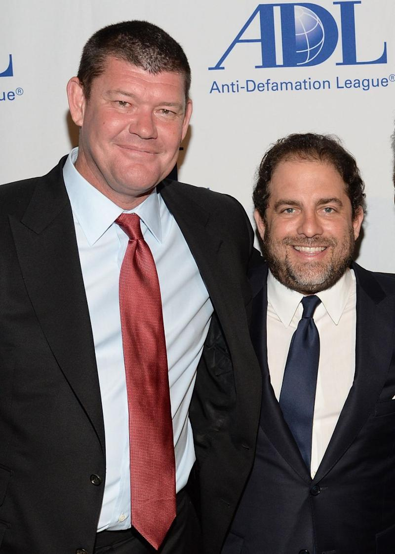 Ratner is the former business partner of James Packer. The pair are seen here together in 2016. Source: Getty