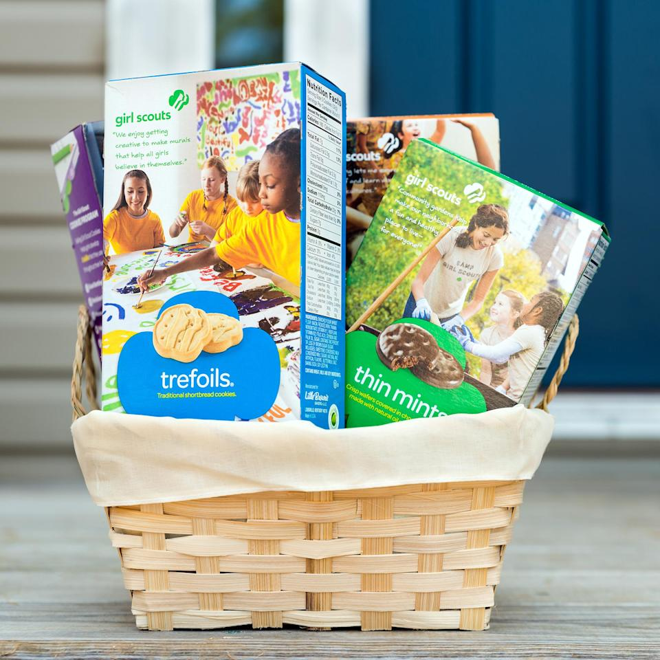 girl scout cookies home delivery girl scout cookies online (Shutterstock)