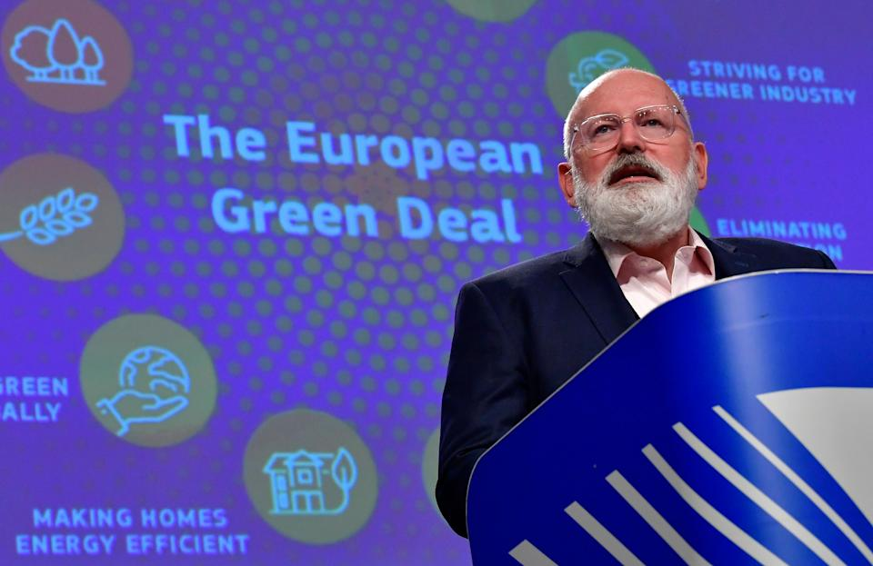 European Commission Vice President Frans Timmermans (Photo by JOHN THYS/POOL/AFP via Getty Images) (Photo: JOHN THYS via Getty Images)