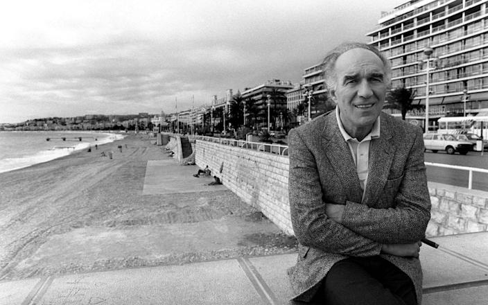 Michel Piccoli in Nice, 1983 - ERIC GAILLARD/AFP via Getty