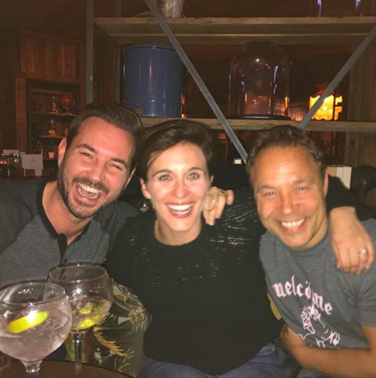 """<p>Mercurio was bang on when he posted this picture on Twitter with the caption, """"deeply concerned to detect of AC-12 officers @Vicky_McClure and @martin_compston consorting with @StephenGraham73 - see what he's up to when you're not looking. Will report to Supt. Hastings for further investigation which may result in you both being served Reg 15's.""""</p>"""