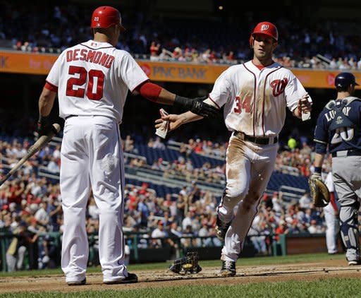 'Sun monster,' Zimmermann lead Nats over Brewers