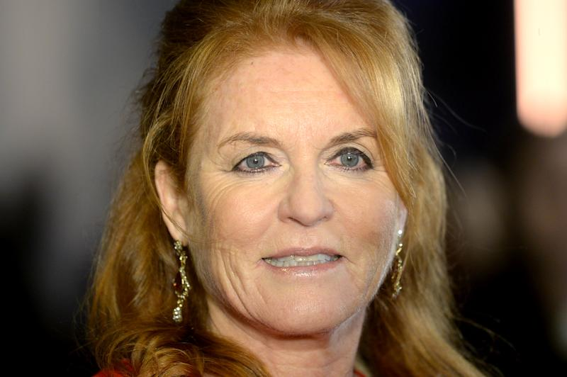 Sarah Ferguson attends the BFI Luminous Fundraising Gala at The Roundhouse on October 01, 2019 in London, England.