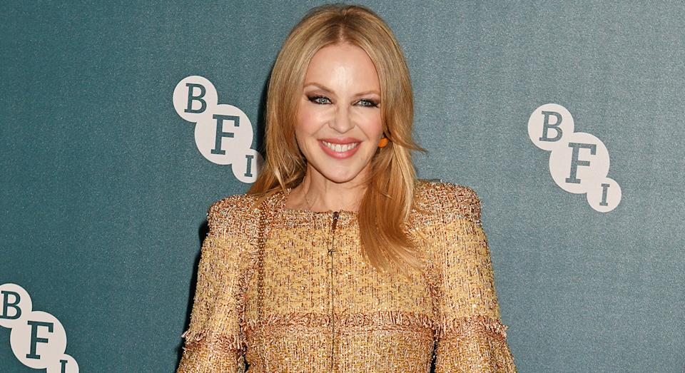 Kylie Minogue launches debut rosé wine on her 52nd birthday - and it is under £10.  (Getty Images)