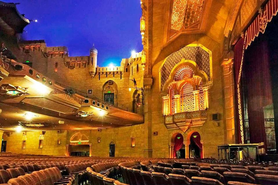 "<p>""I always feel transported when I visit the <a href=""https://www.foxtheatre.org/"" rel=""nofollow noopener"" target=""_blank"" data-ylk=""slk:Fox Theatre in Atlanta"" class=""link rapid-noclick-resp"">Fox Theatre in Atlanta</a>. With an interior that boasts a mesh of Islamic and Egyptian design influences, it's truly representative of the melting pot that our city is today."" <em>—Michel Smith Boyd</em></p>"