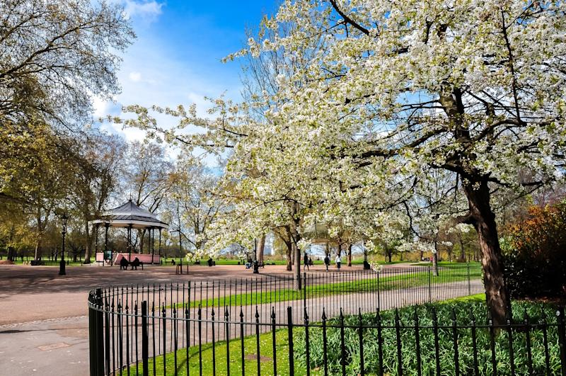 London's parks are perfect places for kids to burn off energy: Getty Images/iStockphoto