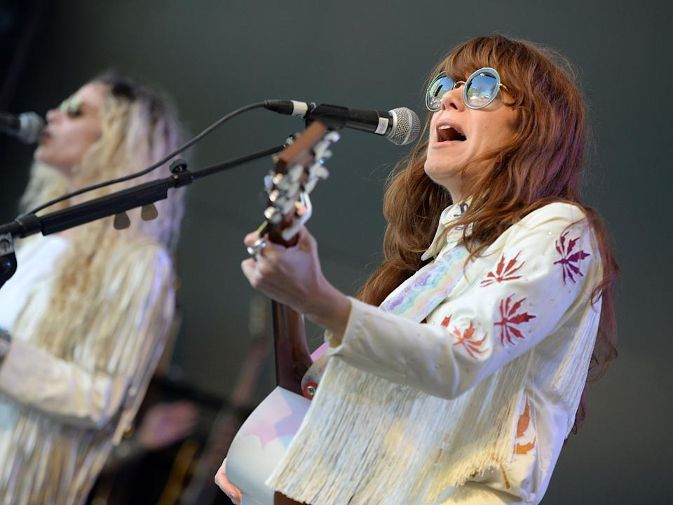 Jenny Lewis performs in 2016.
