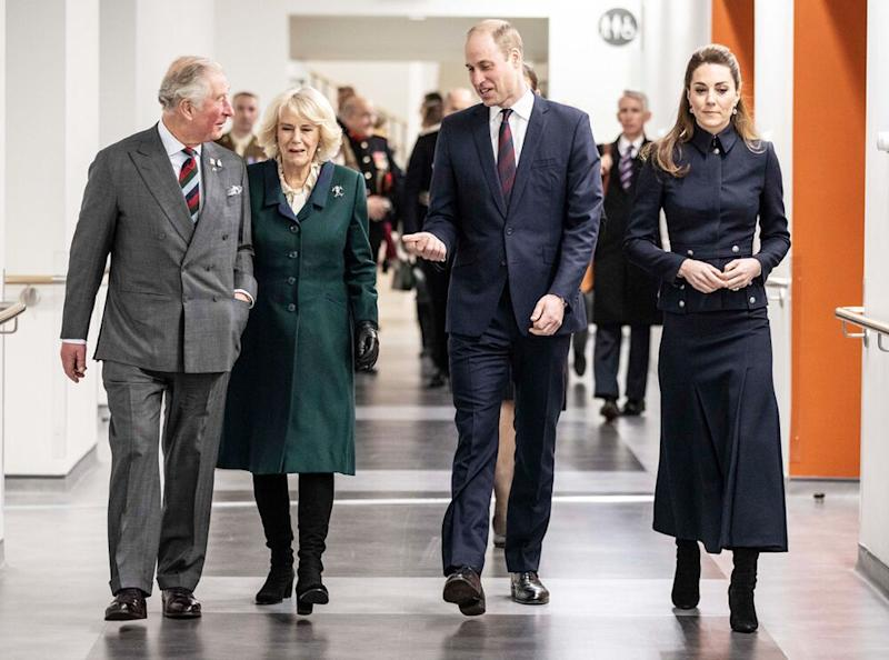 Prince Charles, Camilla, Duchess of Cornwall, Prince William and Kate Middleton | Richard Pohle/The Times/PA Images
