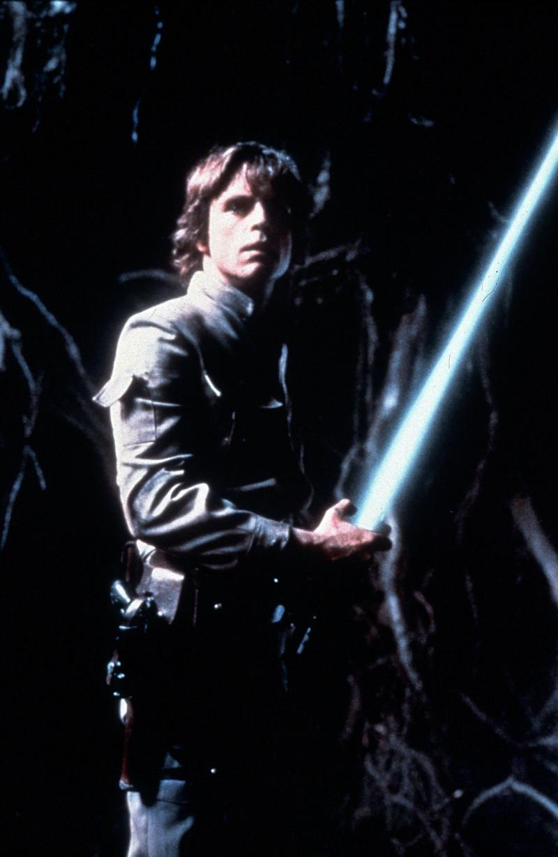 Hamill as a Jedi Knight-in-training in 'The Empire Strikes Back' (Photo: Mary Evans/LUCASFILM/Ronald Grant/Everett Collection)