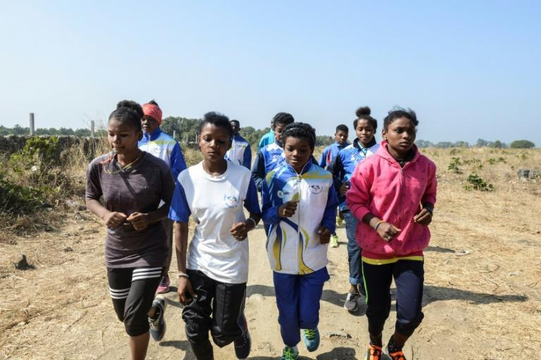 Promising young Siddi athletes now train at a sports academy in Gujarat
