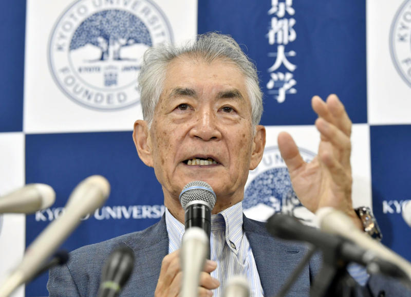 Japan's Tasuku Honjo wins Nobel medicine prize for work on anticancer care