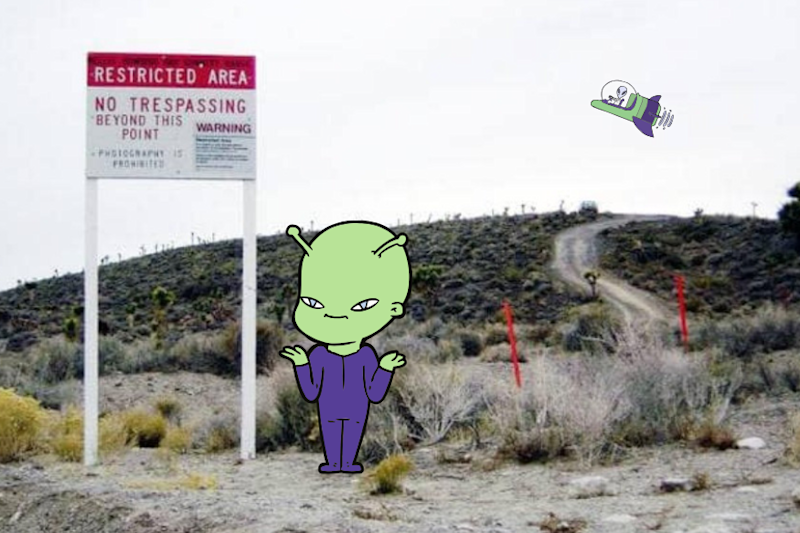 Time to 'Free Them Aliens': Hundreds of People Are Queuing Up Outside Area 51 For the Raid