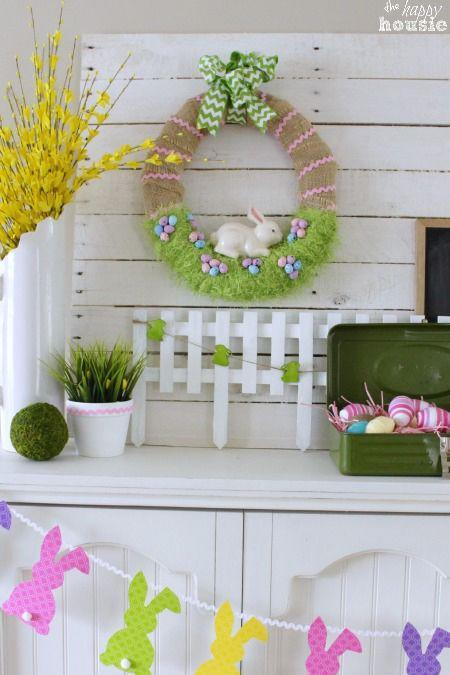 "<p>Eyelash yarn from the dollar store provides the look of grass for this adorable wreath. </p><p><strong>Get the tutorial at <a href=""http://thehappyhousie.porch.com/easter-bunny-spring-wreath/"" rel=""nofollow noopener"" target=""_blank"" data-ylk=""slk:The Happy Housie"" class=""link rapid-noclick-resp"">The Happy Housie</a>.</strong></p><p><a class=""link rapid-noclick-resp"" href=""https://www.amazon.com/Burlap-Natural-Christmas-Wedding-Decoration/dp/B07X1NY3MT/ref=sr_1_2_sspa?tag=syn-yahoo-20&ascsubtag=%5Bartid%7C10050.g.1652%5Bsrc%7Cyahoo-us"" rel=""nofollow noopener"" target=""_blank"" data-ylk=""slk:SHOP BURLAP RIBBON"">SHOP BURLAP RIBBON</a></p>"