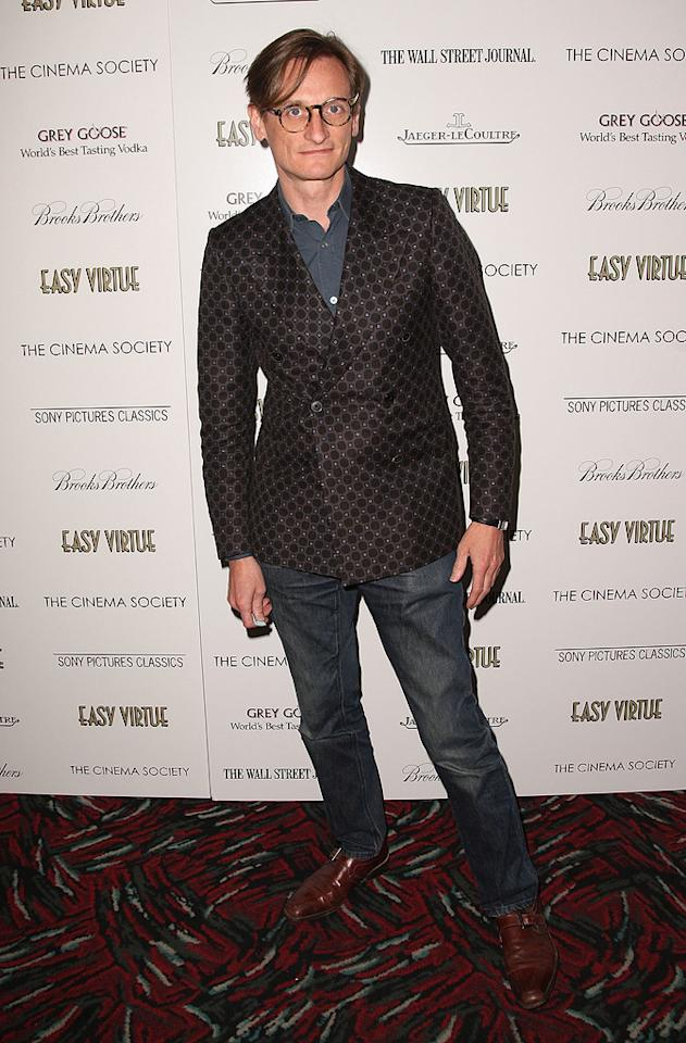 """<a href=""""http://movies.yahoo.com/movie/contributor/1808965709"""">Hamish Bowles</a> at the New York Cinema Society screening of <a href=""""http://movies.yahoo.com/movie/1809765397/info"""">Easy Virtue</a> - 05/11/2009"""