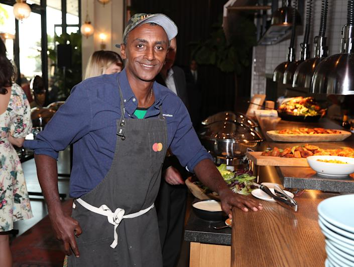 Chef Marcus Samuelsson (Photo by Jerritt Clark/Getty Images for Island Records)