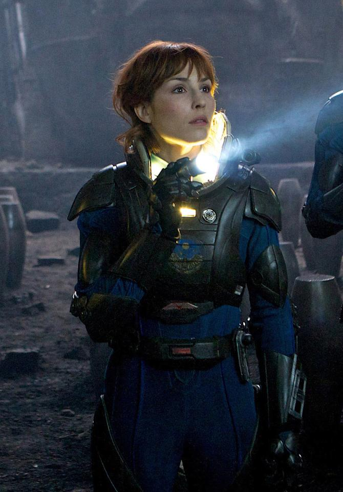 """<p class=""""MsoNormal""""><a target=""""_blank"""" href=""""http://movies.yahoo.com/person/noomi-rapace/"""">Noomi Rapace</a>, <a target=""""_blank"""" href=""""http://movies.yahoo.com/movie/prometheus-2012/"""">""""Prometheus""""</a><br><br>We're aware of the fact that Swede Noomi Rapace received quite a bit of recognition when she originated the role of computer hacker Lisbeth Salander in the internationally lauded """"The Girl With the Dragon Tattoo"""" franchise in 2009. That said, she didn't become a household name in the U.S. But that will soon change when stateside audiences see her suit up as archaeologist Elizabeth Shaw in director Ridley Scott's sci-fi spectacular, """"Prometheus."""" And even if she bites the dust after being attacked by a rabid face-hugging monster, she'll definitely be remembered for starring in the highly anticipated """"Alien"""" prequel alongside some of cinema's hottest commodities: Charlize Theron, Michael Fassbender, and Idris Elba.</p>"""