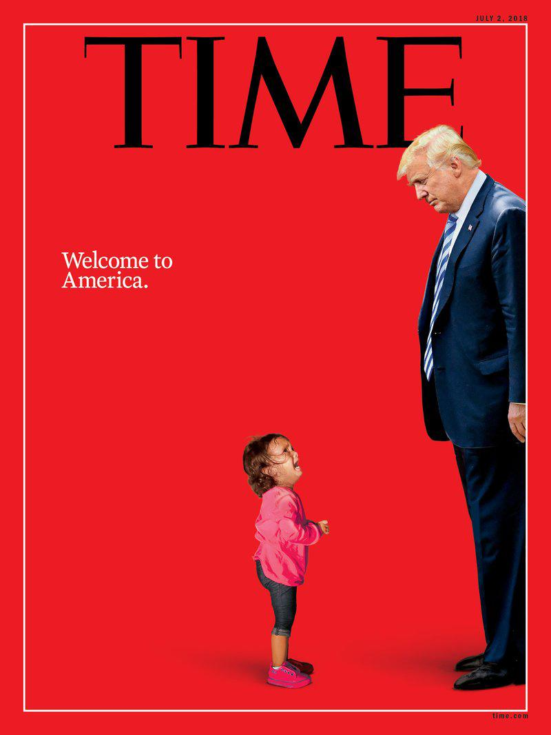 Time Magazine's cover