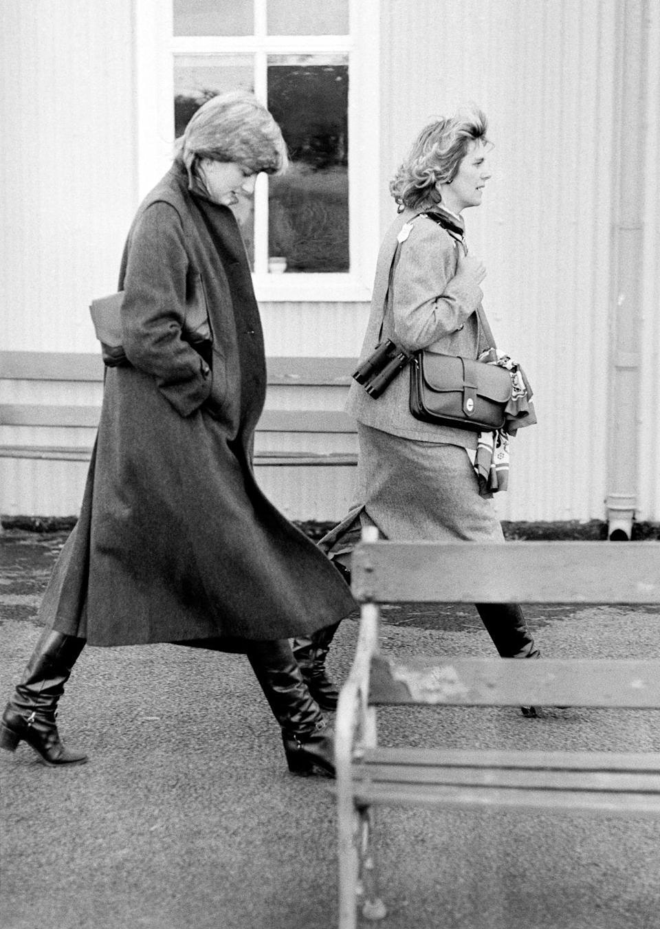 <p>Camilla and Diana went to go watch Charles play polo together. </p>