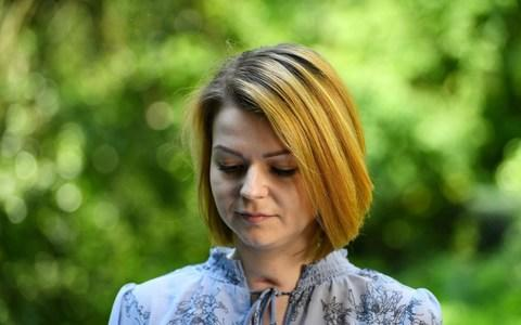 <span>In a video statement last month, Yulia Skripal said she and her father were recovering but declined the Russian embassy's requests for access to her</span> <span>Credit: Dylan Martinez/AFP/Getty Images </span>
