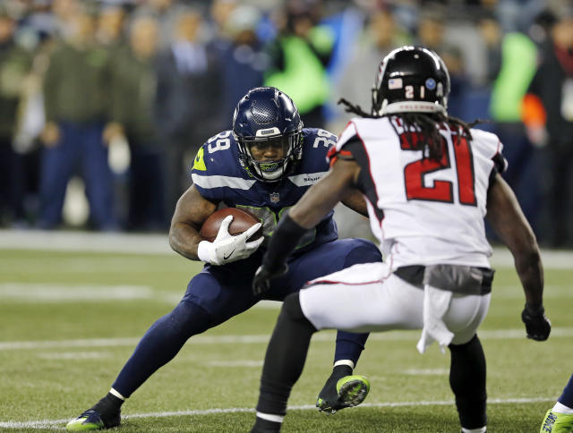 Mike Davis should be back for the Seahawks in Week 13. (AP Photo/Stephen Brashear)