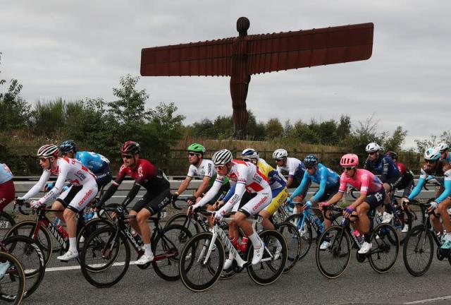 Tour of Britain - The 173.2-km Stage 4 from Gateshead to Kendal