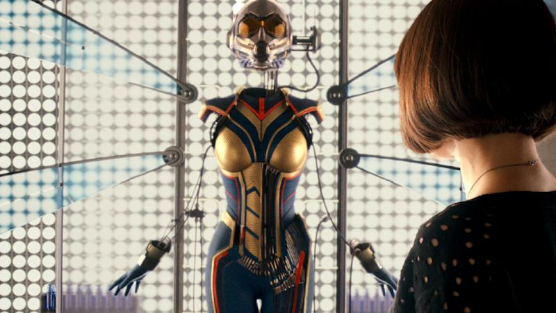 Ant-Man's mid-credit sting laid the groundwork for 2018's sequel (Marvel Studios/Disney)