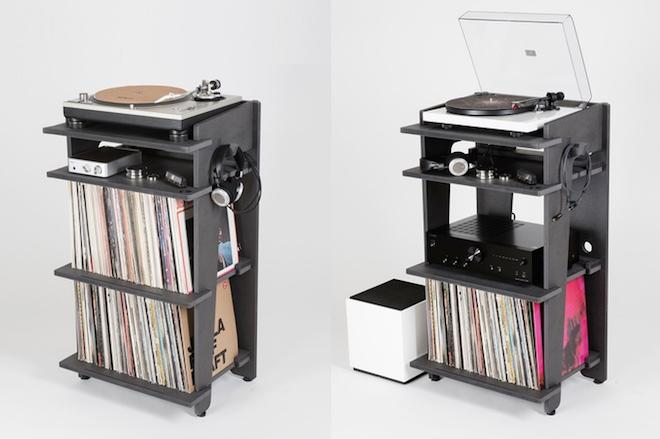 Bon Developed By Turntable Lab, A New York Based Record Store, The Turntable  Station Is A $349 Console For Gear And Record Storage. All Images Via  Kickstarter.