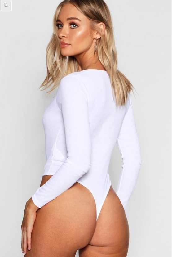 eeae09ab034 Women lose it over ridiculously high-cut 'front wedgie' bodysuit ...