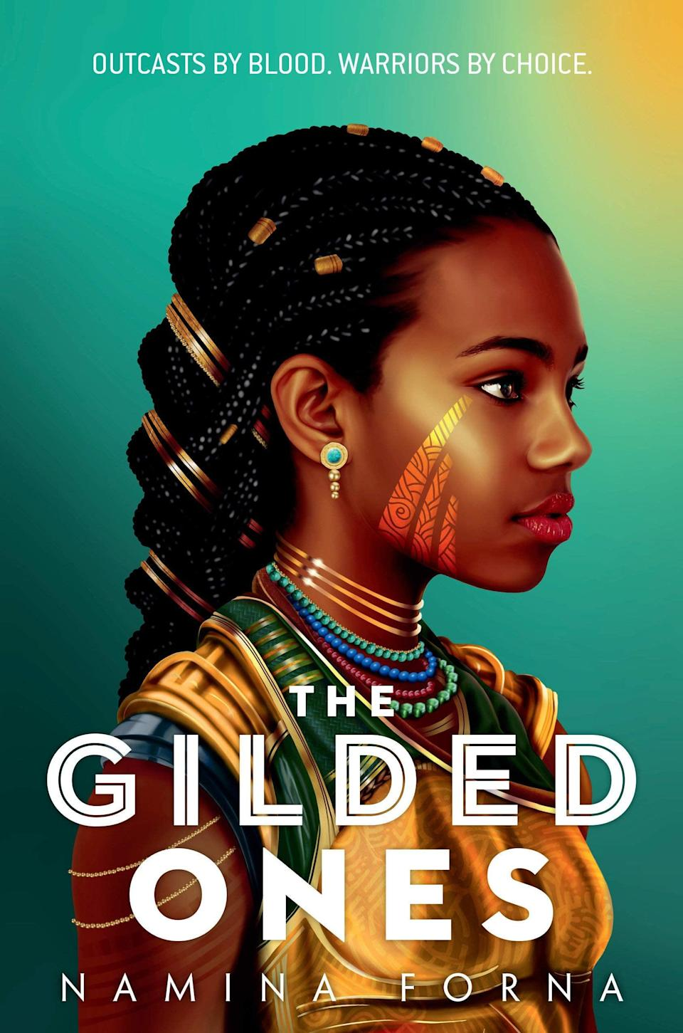 <p>Namina Forna introduces readers to an intricate, West African-inspired fantasy world in <span><strong>The Gilded Ones</strong></span>. At 16, Deka's fate seems to be sealed when her blood runs gold, marking her as impure, but then a mysterious woman shows up in her village offering her the chance to become a warrior in an army full of girls just like her.</p> <p><em>Out Feb. 9</em></p>