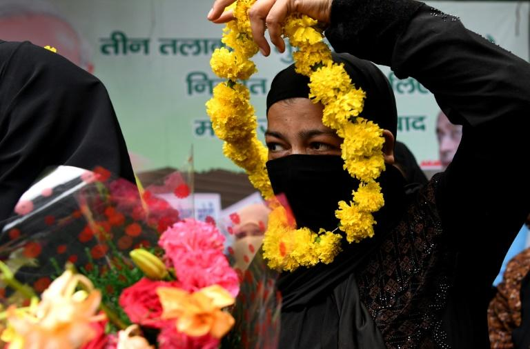The banning of triple talaq, or 'instant divorce', led to celebrations across India by some Muslim women's groups