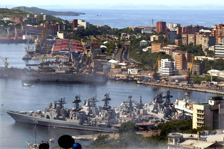 Vladivostok is the home port for Russia's Pacific Fleet