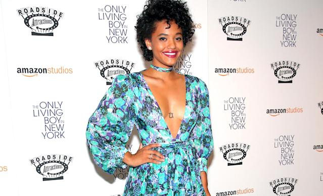 Kiersey Clemons at the premiere of 'The Only Living Boy in New York' (Getty Images)