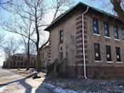 """<p><strong>Ellis Island Immigrant Hospital - Jersey City, NJ</strong></p><p>For many, Ellis Island was the entry point into the United States. But for those who arrived unwell or sick, they had to first rehabilitate in the Ellis Island Immigrant Hospital–which also included a contagious disease hospital. The hospital closed in 1954, but it's possible that some of <a href=""""https://www.nps.gov/elis/learn/historyculture/this-month-in-history-march.htm"""" rel=""""nofollow noopener"""" target=""""_blank"""" data-ylk=""""slk:the 3,500 souls who died"""" class=""""link rapid-noclick-resp"""">the 3,500 souls who died</a> on the property could still roam the land.<br></p><p>Photo: Wikimedia Commons/<a href=""""https://en.wikipedia.org/wiki/Ellis_Island_Immigrant_Hospital#/media/File:Ellis_Island_Immigrant_Hospital_-_Island_3_Exterior.jpg"""" rel=""""nofollow noopener"""" target=""""_blank"""" data-ylk=""""slk:Z22"""" class=""""link rapid-noclick-resp"""">Z22</a></p>"""