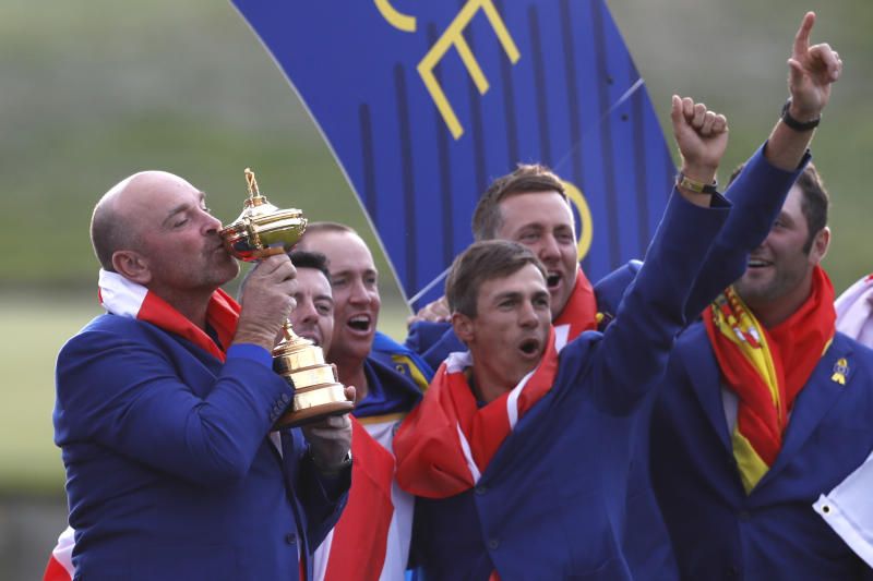 Europe roars back, reclaims Ryder Cup in victory over U.S.