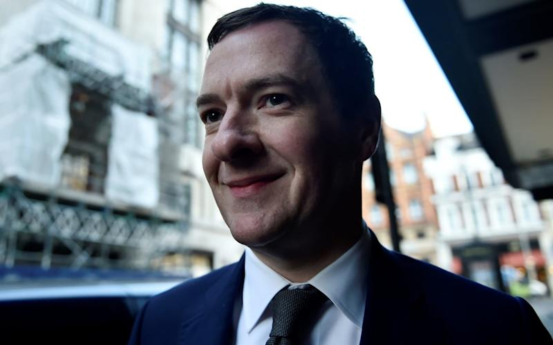 George Osborne started his new role as the editor of the London Evening Standard on Tuesday - REUTERS
