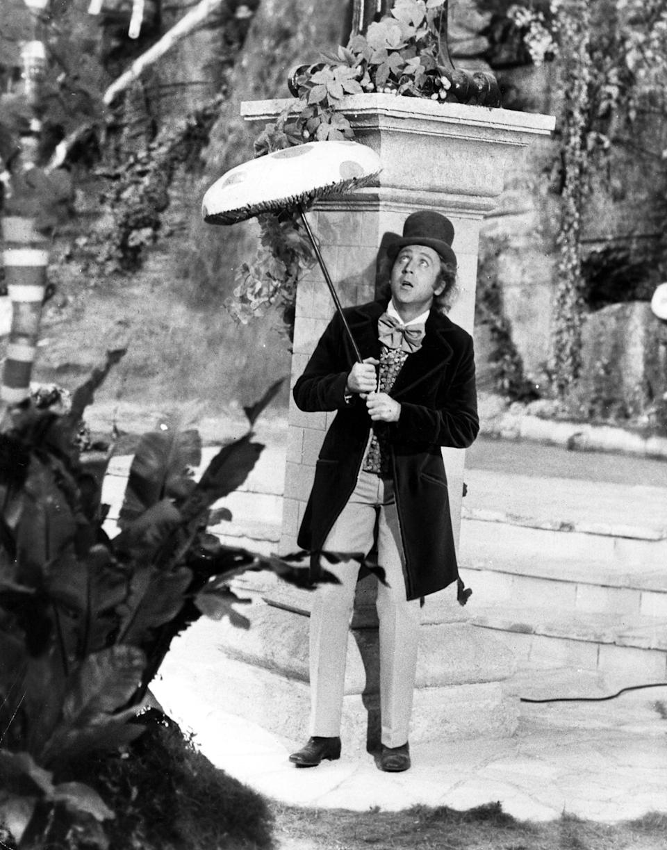 <p>Will Timothée tote around a giant mushroom on his cane like Gene did back in the day? We'll have to wait until 2023 to find out.</p>