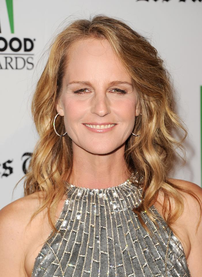 BEVERLY HILLS, CA - OCTOBER 22:  Actress Helen Hunt arrives at the 16th Annual Hollywood Film Awards Gala presented by The Los Angeles Times held at The Beverly Hilton Hotel on October 22, 2012 in Beverly Hills, California.  (Photo by Jason Merritt/Getty Images)