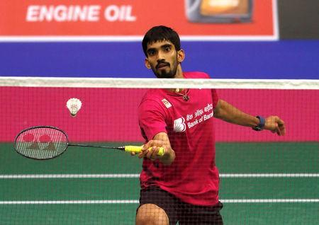 Badminton - Badminton World Championships - Glasgow, Britain - August 21, 2017 India's Kidambi Srikanth in action REUTERS/Russell Cheyne