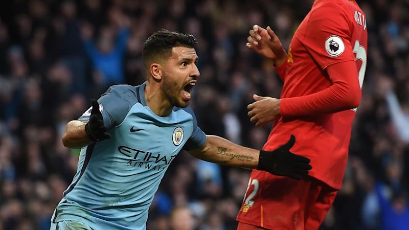 Sergio Agüero Manchester City Premier League 19032017