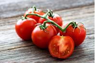 """<p>Juicy <a href=""""https://www.prevention.com/food-nutrition/healthy-eating/a19828835/red-vs-yellow-tomatoes/"""" rel=""""nofollow noopener"""" target=""""_blank"""" data-ylk=""""slk:tomatoes"""" class=""""link rapid-noclick-resp"""">tomatoes</a> are amazing in salsas, sauces, salads, and sandwiches. And they're nutritional superstars, too. Red tomatoes, in particular, are <a href=""""https://www.ncbi.nlm.nih.gov/pmc/articles/PMC3850026/"""" rel=""""nofollow noopener"""" target=""""_blank"""" data-ylk=""""slk:rich in lycopene"""" class=""""link rapid-noclick-resp"""">rich in lycopene</a>, a carotenoid that may help reduce your risk of chronic diseases. The tangy fruits are also low in calories but high in potassium, zinc, and vitamin C.</p><p><strong>Try it:</strong> <a href=""""https://www.prevention.com/food-nutrition/recipes/a20471878/sauteed-cherry-tomatoes-and-white-beans/"""" rel=""""nofollow noopener"""" target=""""_blank"""" data-ylk=""""slk:Sautéed Cherry Tomatoes and White Beans"""" class=""""link rapid-noclick-resp"""">Sautéed Cherry Tomatoes and White Beans</a></p>"""