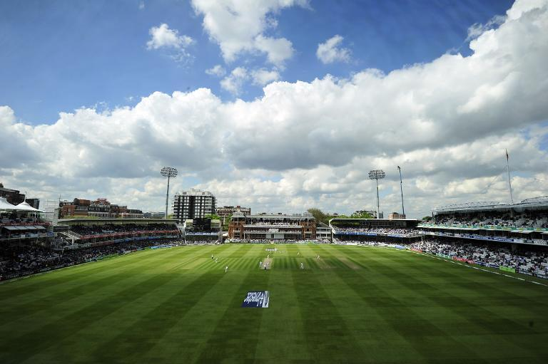 A general view of Lord's cricket ground in London, May 16, 2013 (AFP Photo/Glyn Kirk)