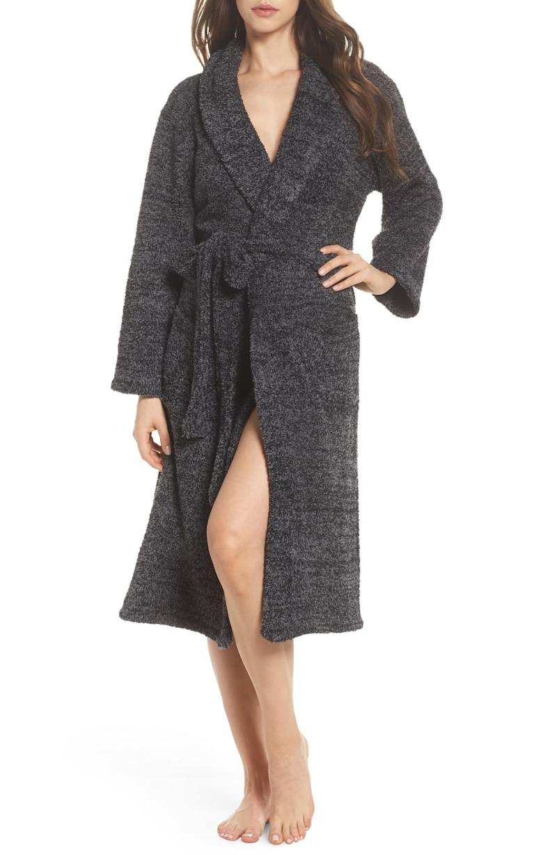Barefoot Dreams CozyChic Unisex Robe. Image via Nordstrom.