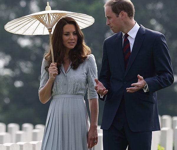 william, kate malesia